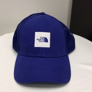 Blue North Face Hat